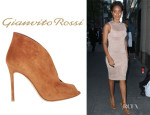 Jada Pinkett Smith's Gianvito Rossi Split-Front Ankle Boots