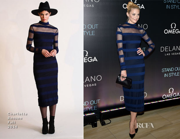 Jaime King In Charlotte Ronson - Delano Las Vegas Grand Opening Party
