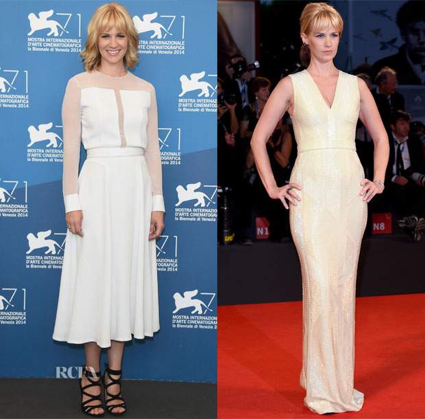 January Jones In BOSS - 'Good Kill' Venice Film Festival Photocall & Premiere