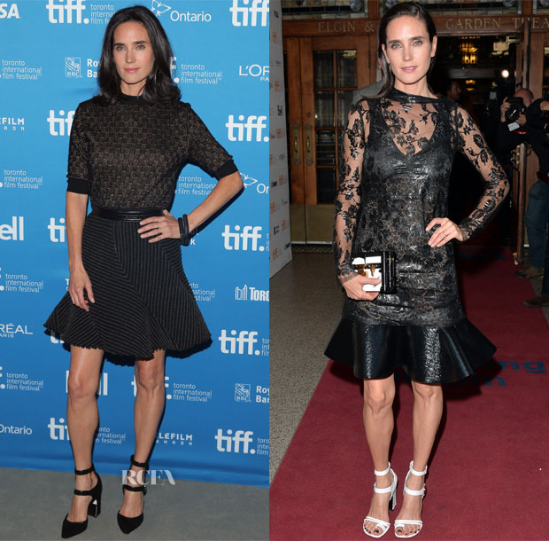 Jennifer Connelly In Louis Vuitton - 'Shelter' Toronto Film Festival Premiere