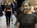 Jennifer Lawrence In Emilio Pucci - 2014 iHeartRadio Music Festival