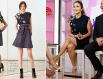 Jennifer Lopez In Alexis Mabille - The Today Show