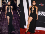 Jennifer Lopez In Atelier Versace - Fashion Rocks 2014