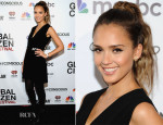 Jessica Alba In Edun - 2014 Global Citizen Festival