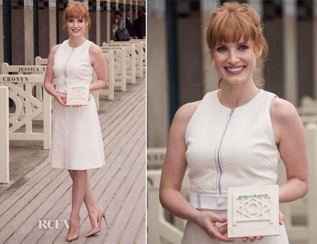 Jessica Chastain In 31 Phillip Lim - 2014  Deauville American Film Festival Tribute