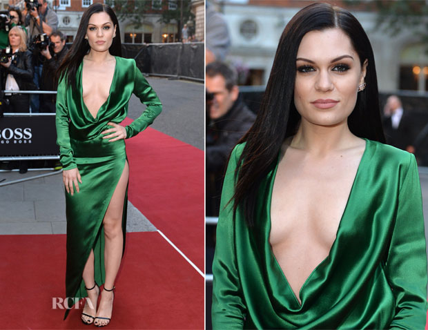 Jessie J In Vintage Jean Paul Gaultier - 2014 GQ Men of the Year Awards