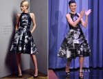 Julianna Margulies In Pamella Roland - The Tonight Show Starring Jimmy Fallon