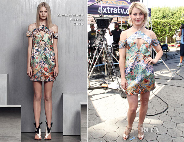 Julianne Hough In Zimmermann Resort - Extra