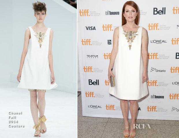 Julianne Moore In Chanel Couture - 'Still Alice' Toronto Film Festival Premiere