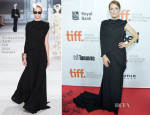 Julianne Moore In Giambattista Valli Couture - 'Maps To The Stars' Toronto Film Festival Premiere