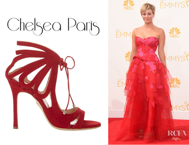 Kaley Cuoco's Chelsea Paris 'Ada' Strappy Sandals