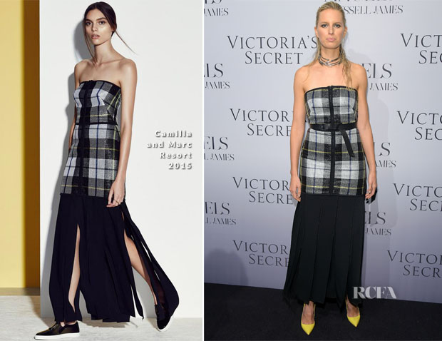Karolina Kurkova In Camilla and Marc - Victoria's Secret Hosts Russell James' Angel Book Launch