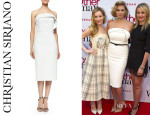 Kate Upton's Christian Siriano Draped Ruffle Cocktail Dress