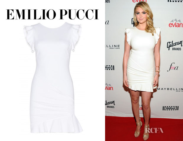 Kate Upton's Emilio Pucci Virgin Wool Dress