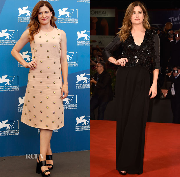 Kathryn Hahn In Marni - 'She's Funny That Way' Venice Film Festival Photocall & Premiere