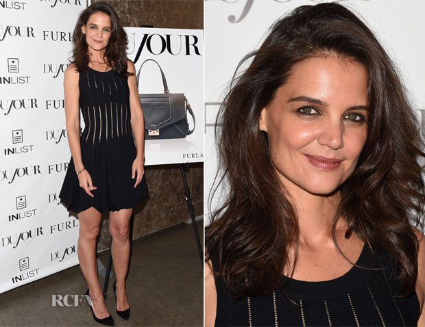 Katie Holmes In Azzedine Alaïa - DuJour Magazine Party