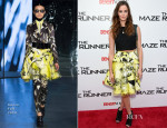 Kaya Scodelario In Kenzo - 'The Maze Runner' Teen Vogue Screening