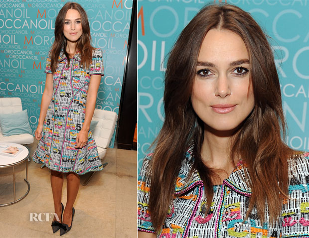 Keira Knightley In Chanel - Variety Studio At Holt Renfrew