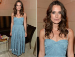 Keira Knightley In Miu Miu - HFPA & InStyle's 2014 TIFF Celebration