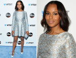 Kerry Washington In Mary Katrantzou - #TGIT Premiere Event