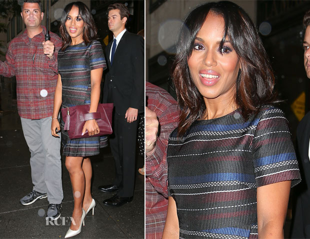 Kerry Washington In Suno - Out In New York City