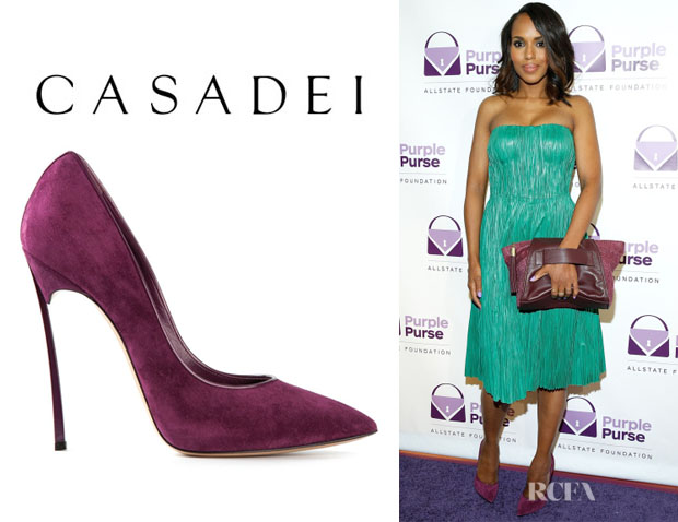Kerry Washington's Casadei 'Blade' Pumps