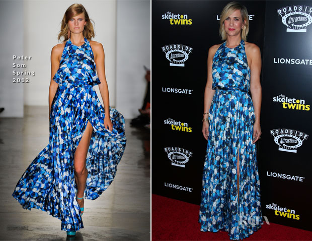 Kristen Wiig In Peter Som -  'The Skeleton Twins' LA Premiere