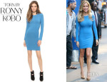 Kristin Cavallari's Torn by Ronny Kobo 'Coco' Dress