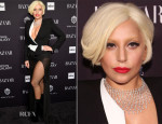 Lady Gaga In Alexandre Vauthier Couture - Harper's Bazaar Celebrates Icons By Carine Roitfeld