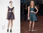 Laura Carmichael In Markus Lupfer - 'Downton Abbey' Season 5 Charity Preview Screening