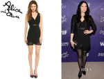 Laura Prepon's Alice + Olivia 'Brice' Layered Dress