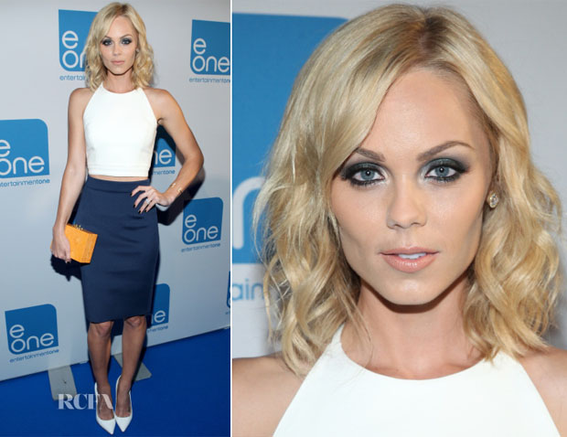 Laura Vandervoort In Babi & Amen -  Entertainment One (eOne) Toasts 2014 Film Slate At TIFF