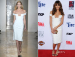 Lea Michele In Cushnie et Ochs - FX's 'Sons Of Anarchy' LA Premiere