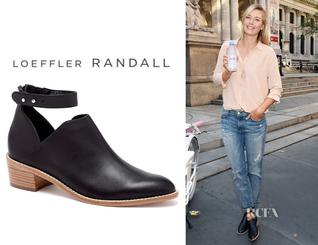 Maria Sharapova's Loeffler Randall 'Franca' Cut-Out Heel Booties