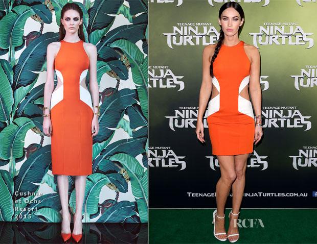Megan Fox In Cushnie et Ochs - 'Teenage Mutant Ninja Turtles' Sydney Special Event Screening