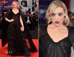 Mia Moretti In Alberta Ferretti - 'Hungry Hearts' Venice Film Festival Premiere
