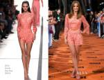 Michelle Jenner In Elie Saab - 'Isabel' Season 3 Premiere