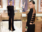Nicole Richie In Noam Hanoch - House of Harlow 1960 Bloomingdale's Appearance