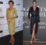 Nieves Alvarez In Elie Saab Couture & Emilio Pucci - amfAR Milano 2014 Gala & Vogue Italia 50th Anniversary