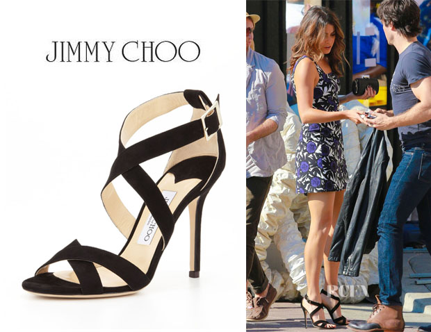 Nikki Reed's Jimmy Choo 'Lottie' Sandals