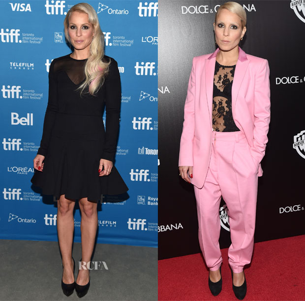 Noomi Rapace In Antonio Berardi & Vionnet - 'The Drop' Toronto Film Festival Photocall & HFPA & InStyle's 2014 TIFF Celebration