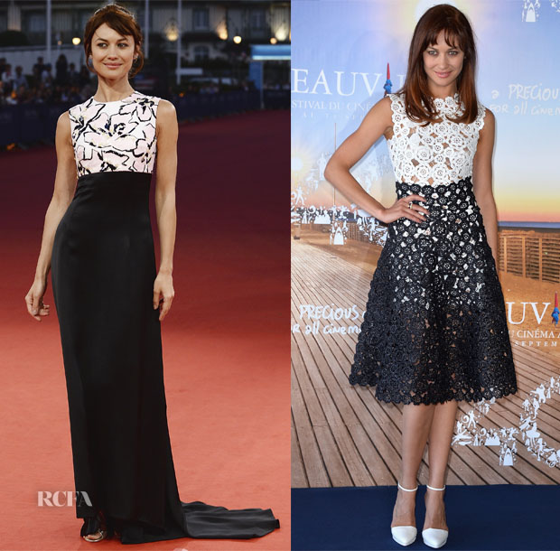 Olga Kurylenko In Christian Dior -  'The November Man' Deauville American Film Festival Premiere