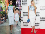 Pixie Lott In Christian Dior - Scottish Fashion Awards 2014