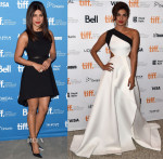 Priyanka Chopra In Alice + Olivia & Gauri and Nainika - 'Mary Kom' 2014 Toronto Film Festival