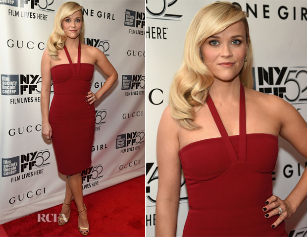 Reese Witherspoon In Calvin Klein - 'Gone Girl' World Premiere