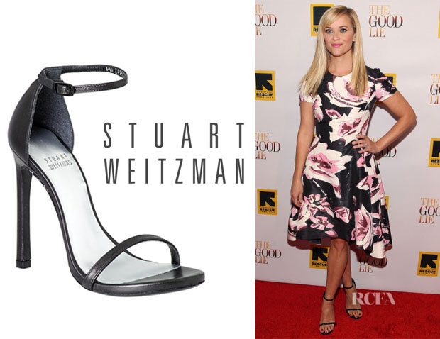 Reese Witherspoon's Stuart Weitzman 'Nudist' Sandals