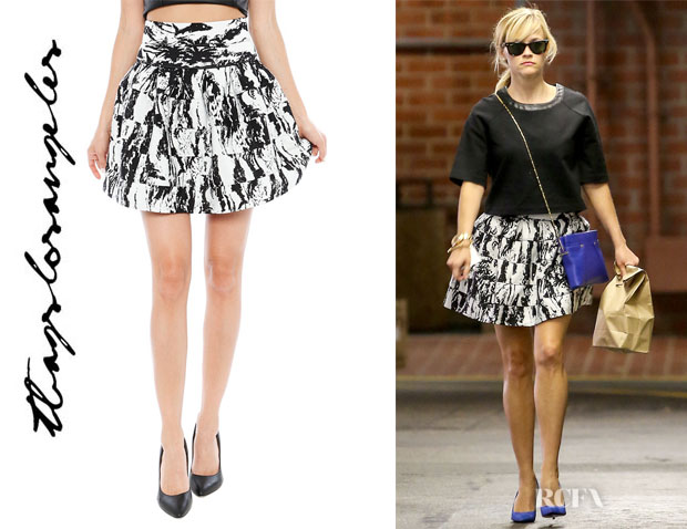 Reese Witherspoon's T Bags 'Lantern' Skirt