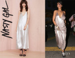 Rihanna's Nasty Gal 'In A Flash' Dress
