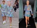Rita Ora In Fyodor Golan & Richard Nicoll - O2 Shepherd's Bush Empire