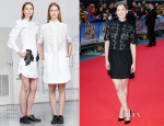Rosamund Pike In Erdem - 'What We Did On Our Holiday' World Premiere